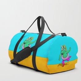 Sugarplum Triceratops Duffle Bag
