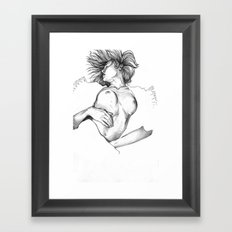 Egon Girl Framed Art Print