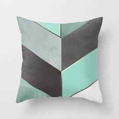 Chevron Geometric 1 Throw Pillow