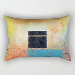 Of the Earth 1 by Nadia J Art Rectangular Pillow