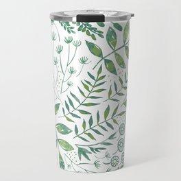 Leafy Greens : Green Travel Mug