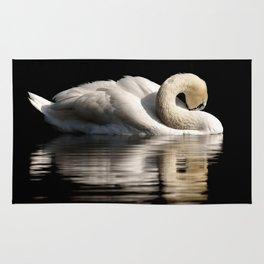 White Swan Rug