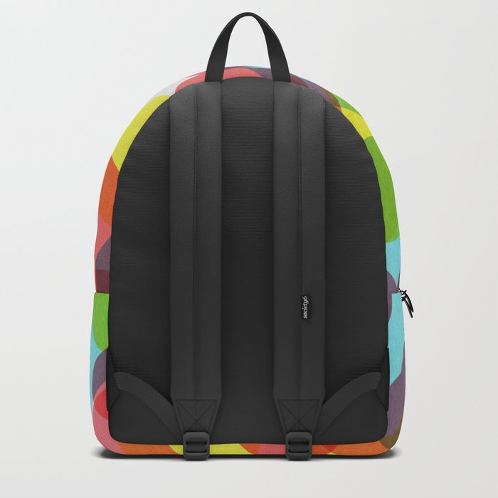 Bubble Burst Pattern Backpack
