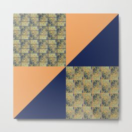 Fluid Abstract 13 Metal Print