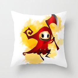 Little Red Throw Pillow