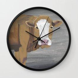 A Heifer Named Serene Wall Clock