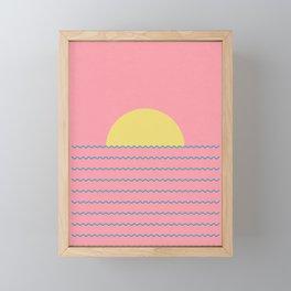 Every Day The Sun Rise Framed Mini Art Print