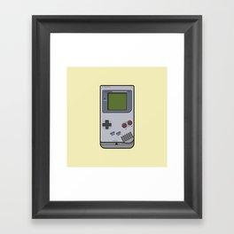 #44 Nintendo Gameboy Framed Art Print