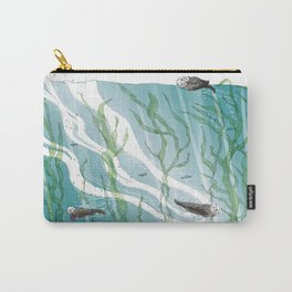 Otters Love Life Carry-All Pouch