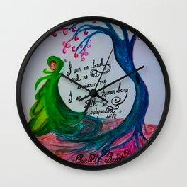 No Bird Wall Clock