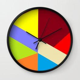 Crazy Color Wall Clock