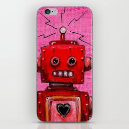 Orange-bot iPhone Skin