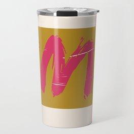 Aya in Ochre Travel Mug