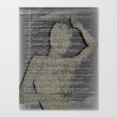 Discordant (ilus. 1) Canvas Print