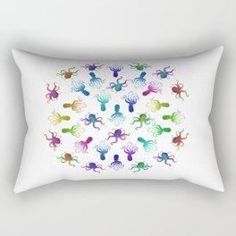 The Circle of Octopi Rectangular Pillow