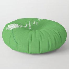 Escape from the dandeLION Floor Pillow