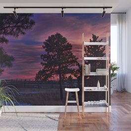 Behind The Sunset Wall Mural