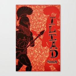 Homer's Iliad Canvas Print