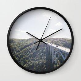 Via Blanca Wall Clock