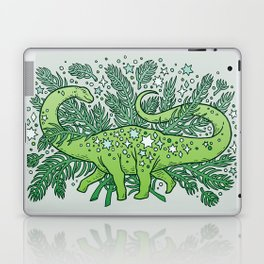 Winter Solstice Sauropod | Evergreens Palette Laptop & iPad Skin