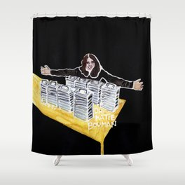 Dr. Katie Bouman Shower Curtain