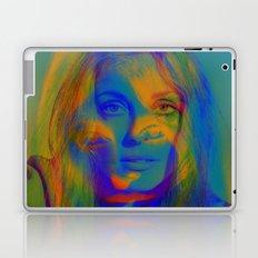 Sharon the blue mix Laptop & iPad Skin