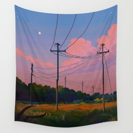 Powerline Series I Wall Tapestry