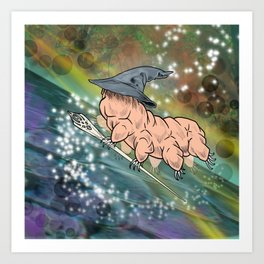 Tardigrandalf Art Print