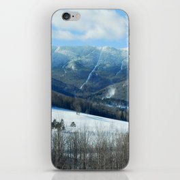 Ski Trails at Sugarbush Resort, Vermont iPhone Skin