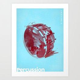 Symphony Series: Percussion Art Print