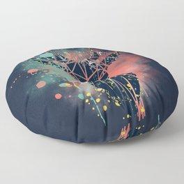 Mystic Deer Floor Pillow