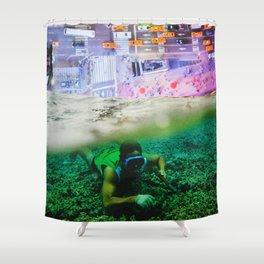 Nightswimming Shower Curtain