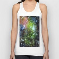 cosmic Tank Tops featuring cosmic by Eliza L