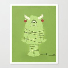 Holiday Monster Canvas Print