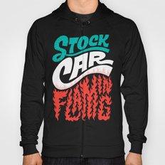 Stock Car Flaming Hoody