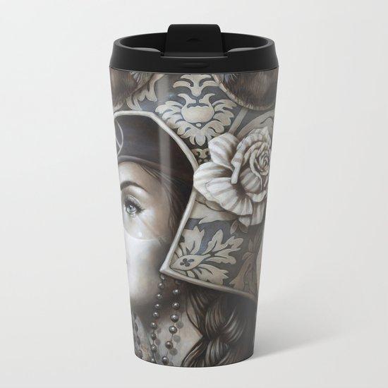 Guerrière pacifique Metal Travel Mug