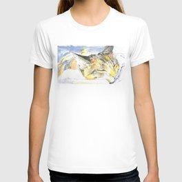 Sleeping Ohko T-shirt