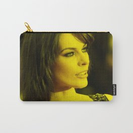 Milla Jovovich - Celebrity (Photographic Art) Carry-All Pouch