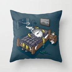 Sleep Modus Throw Pillow