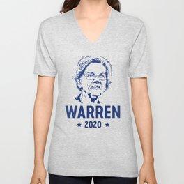 Warren 2020 Face Unisex V-Neck