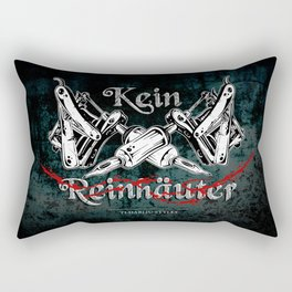 Kein Reinhäuter Rectangular Pillow