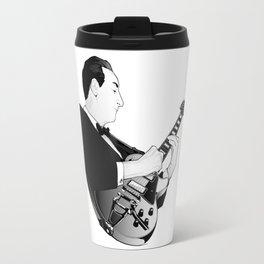 LES PAUL House of Sound - WHITE GUITAR Travel Mug