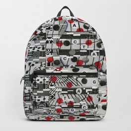The Unreasonable Man (P/D3 Glitch Collage Studies) Backpack