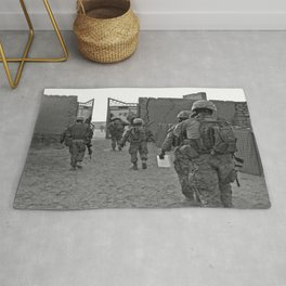 Oscar Mike (please read description for this pic) Rug