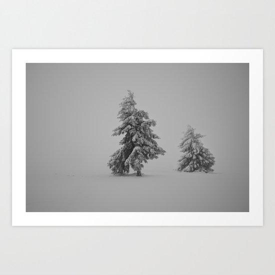 Time Frozen Art Print
