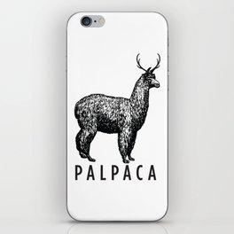 the palpaca iPhone Skin