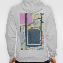 Abstract watercolor still life #2 Hoody