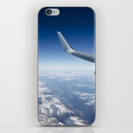 Flying over the Alps iPhone Skin