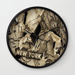 AGLOE, NEW YORK  Wall Clock