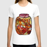 vegetables T-shirts featuring Preserved vegetables by ChiLi_biRó